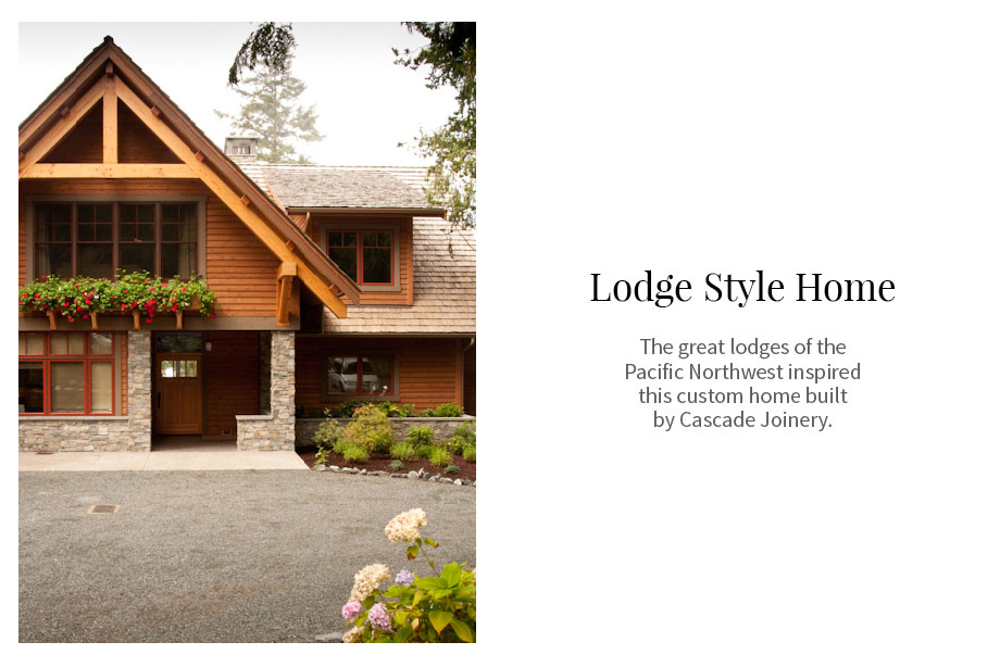 #Lodge Style home