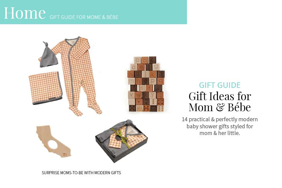 Modern Baby Shower Gift Ideas